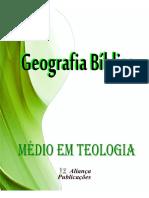 Geografia Bíblia