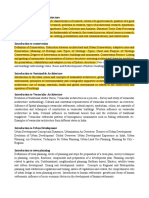 Comprehensive Examination Syllabus