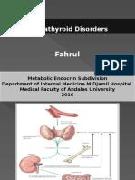 Slide Disorder Paratiroid