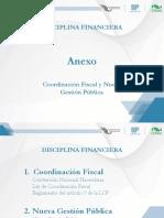 Coordinación Fiscal y Nueva Gestión Pública