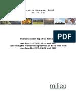2009 - Raport Implementare Dir Munca Durata Determinata