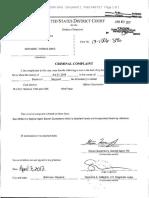 Sen. Oaks Criminal Complaint