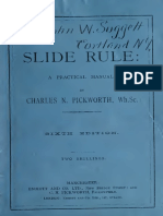 TheSlideRule a Practical Manual Charles N Pickworth