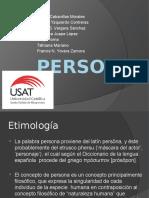 Persona GRUPO5 Diapositivas