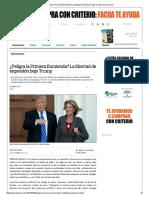 ¿Peligra La Primera Enmienda_ La Libertad de Expresión Bajo Trump _ Lamarea