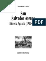 San Salvador Atenco, historia agraria (1910-1940)