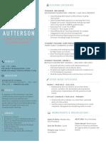 autterson resume 2017