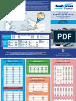 Summer Ferry Schedule 2017