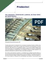 Una Respuesta a Dolarizacion y Pobreza de Cesar Gallo Por Kamal Romero