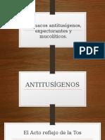 Antitusígenos Expectorantes y Mucoliticos