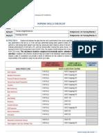 jackson nursing skills checklist
