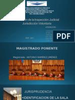 Valoración de La Inspección Judicial EXP.lamiNAS