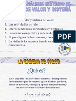 Cadena Del Valor Power Point