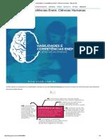 Habilidades e Competências Enem_ Ciências Humanas - Blog Do QG