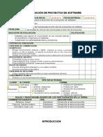Normas para la dirección de un proyecto de software.