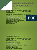 Analisis de Fallas en Soldaduras
