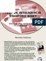 Test de Inteligencia Stanford Binet