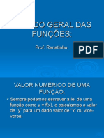 FUNÇÕES TEORIA - 1