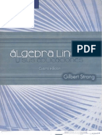 6 Algebra Lineal y Sus Aplicaciones Gilbert Strang 4