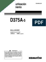 Manual Komatsu Bulldozer d375a 5