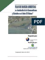 Ficha y Plan de Manejo Ambiental Islote El Palmar Marzo 2013