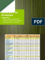 Desastres Naturales en Arequipa