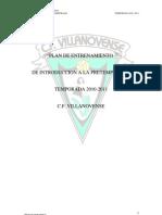 Plan de Entrenamiento 2010