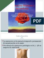 20110822 Amenorrea Primaria y Secundaria Rbm