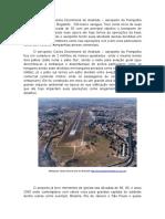 O Aeroporto Carlos Drummond de Andrade