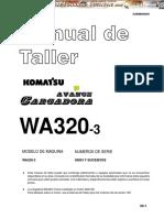 Manual Taller Cargador Frontal WA320-3 KOMATSU.pdf