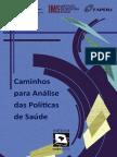 Caminhos para Analise das Politicas de Saude.pdf