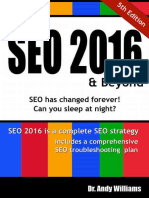 Andy Williams-SEO 2016 & Beyond_ Search Engine Optimization Will Never Be the Same Again!-CreateSpace (2015)