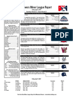 4.7.17 Minor League Report