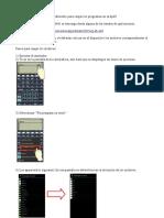 Instructivo HP 48