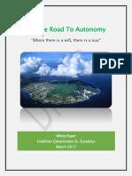 White Paper on the Road to Autonomy