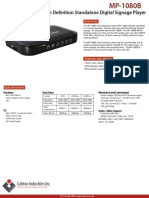 MP-1080B | Caltron High Definition Standalone Digital Signage Media Player