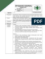 8.1.3.2 Sop Hasil Pemantauan Waktu Penyampaian Hasi Pemeriksaan Laboratorium Untuk Pasien Urgen