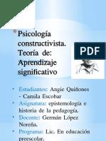 Psicología constructivista