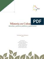 Minería en Colombia  Derechos, políticas públicas y gobernanza