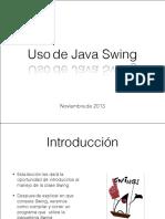 Uso de Java Swing