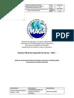 Manual de Inspeccion de Carnes.chile