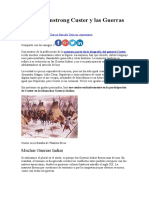George Armstrong Custer y Las Guerras Indias