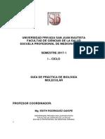 G.P  Biologia Molecular 2017 -I
