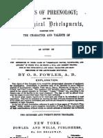 Synopsis of phrenology Phrenological Developments