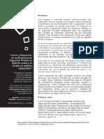 Control de Las Empresas de Seguridad Privada en América Latina y El Caribe
