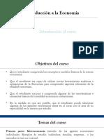 P1. Introducción y Tema 1.a La Economía de Mercado