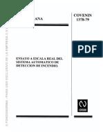 1378-79 Sistema Automático de Detección - Ensayo