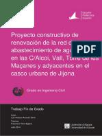 Proyecto Constructivo de Renovacion de La Red de a AMOROS DAVO LUIS ANTONIO 2