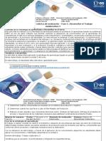 Guía de Actividades y Rúbrica de Evaluación - Fase 5. Desarrollar El Trabajo Colaborativo 2