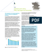 How to Drive Operational Efficiency and Improve Forecasting